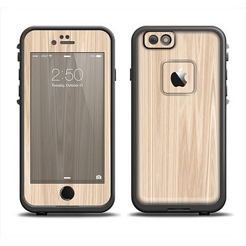 The Natural WoodGrain Apple iPhone 6 LifeProof Fre Case Skin Set