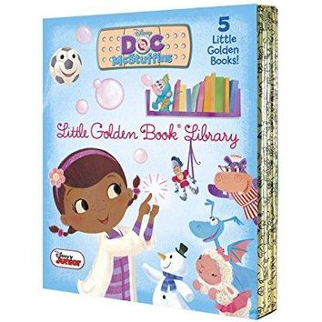 Doc Mcstuffins Little Golden Book Library (Disney Junior: Doc Mcstuffins)