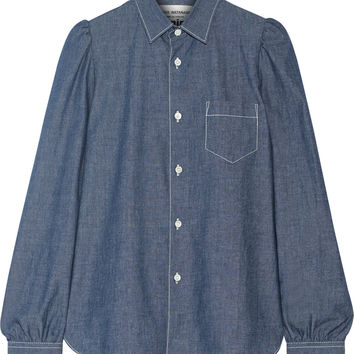 Junya Watanabe - Cotton-chambray shirt