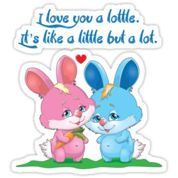 Lottle Love Bunnies, Little but a lot