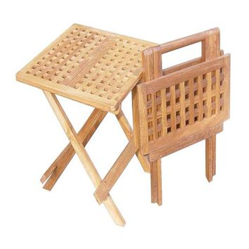 Mannheim Picnic Table, Square Shaped Charming Long-lasting Creation