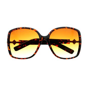 Designer Retro Fashion Style Square Large Oversized Sunglasses O51