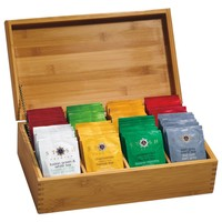 Bamboo 8-Cell Tea Chest