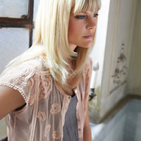 Embroidered tulle shrug - Wrap