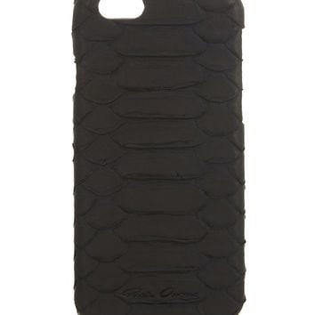 RICK OWENS - Python leather iPhone 6 case | Selfridges.com