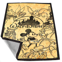 Disney Collage Art 2 fc82eecf-062c-458b-ba27-45c1c6d3db15 for Kids Blanket, Fleece Blanket Cute and Awesome Blanket for your bedding, Blanket fleece *02*