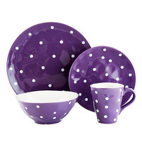 Maxwell & Williams™ Sprinkle Collection Dinnerware in Purple