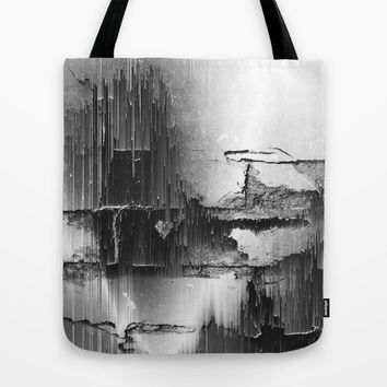 Crumbling Facade Tote Bag by Ducky B