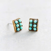 Urban Renewal Delicate Turquoise Stud Earring - Urban Outfitters