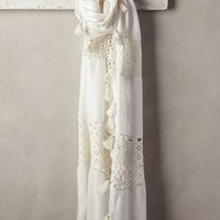 Patched Lacework Scarf by Anthropologie