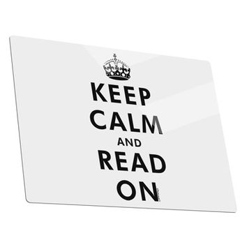 Keep Calm and Read On Metal Panel Wall Art Landscape - Choose Size