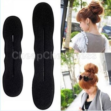 Free Shipping Sponge hair band Bun Clip Maker Former Foam Twist Hair Salon Tool ! Hair DIY free shipping