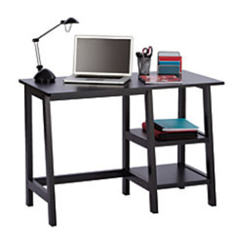 Realspace Donovan Student Desk 30 H x 43 W x 22 D Black by Office Depot