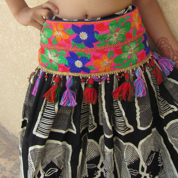 Festival Accessories Boho Majestic Belt Music festival Belt Burning man Costume Belly dancing Belt  Unisex