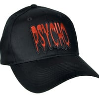 Psycho Horror Hat Baseball Cap Alternative Clothing Snapback