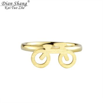 DIANSHANGKAITUOZHE 10pcs Gold Colour Silver Jewelry Rings Anel Masculino Bike Toe Ring For Women Wedding Band Bridesmaid Gift