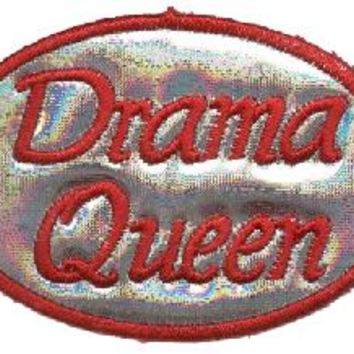 Iron-on Patches - Drama Queen Sassy Iron-on Patch