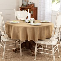 Burlap Natural Table Cloths