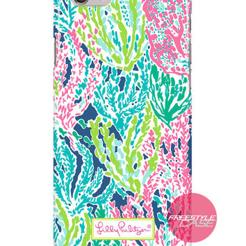 Lilly Pulitzer Multi Let's Cha Cha Inspired iPhone Samsung Case Series