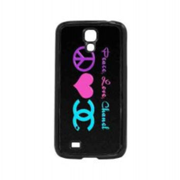 Peace Love Chanel for samsung galaxy s4 case