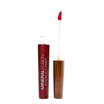 Mineral Fusion Lip Gloss, Scarlet - .135 Oz