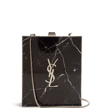 Tuxedo box clutch | Saint Laurent | MATCHESFASHION.COM US