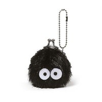 Totoro's Soot Sprite Mini Snap-shut Coin Purse - 3-inches by GUND