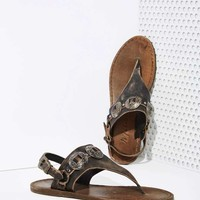 Mexicali Leather Concho Sandals