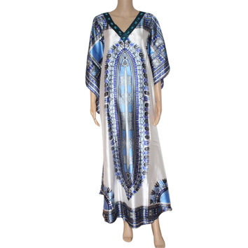 Sparkly dashiki print women dress african traditional dashiki print plus size fashion bazin party dress for lady
