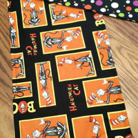 Table RUNNeR CAT in the HAT 40X11 Dr. Seuss Fabric Bold Colors FuN Table DECoR Halloween or Any Time GiFT! Boutique Designs by Sugarbear