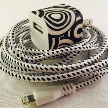 Iphone charger and wall plug, usb cable and wall plug, iphone 5, iphone 6, i5, i6, cell phone accessories, cell phone, apple phone chargers