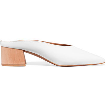 BY FAR - Karen patent-leather mules