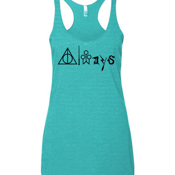 Always Deathly Hollows Tank Top