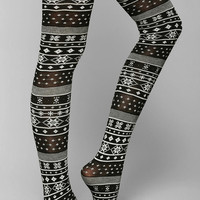 Fair Isle Sweater Tight - Urban Outfitters