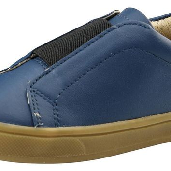 Old Soles Boy's and Girl's Peak Shoe, Jeans/Black