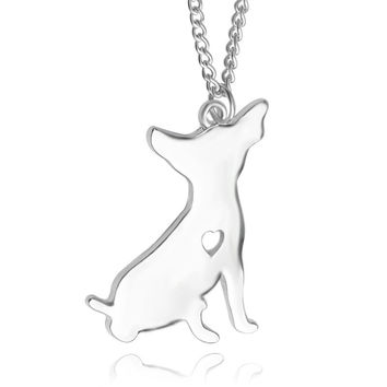 Stylish Shiny New Arrival Jewelry Gift Creative Animal Dogs Fashion Accessory Necklace [6033946753]