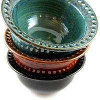 Handmade jewelry holder in bowl style - 4 Color options
