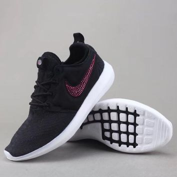 Shop Nike Roshe Black Roses on Wanelo