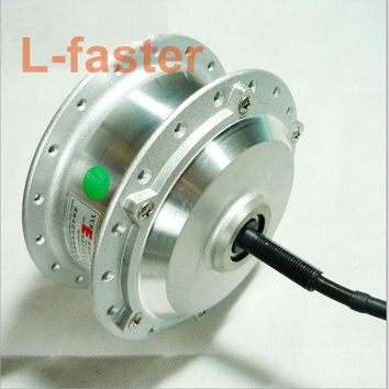 24V/36V 250W Electric Brushless Motor Powerful Electric Bike eBike Front Hub Motor High Speed For Front Wheel YouE Motor