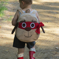 Superhero Backpack, Toddler Backpack, Preschool Backpack,  Child Backpack, Adventurer Backpack