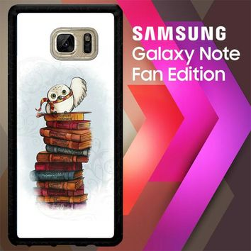 Hedwig Harry Potter Owl X4756 Samsung Galaxy Note FE Fan Edition Case
