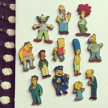The Simpsons  enamel pin Apu
