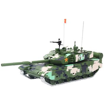 1:50 Unique PLA Model Tank - Military China 2000s ZTZ-99 - 🎖️🇨🇳⚔️🛡️💣