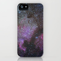 North America Nebula and Pelican Nebula iPhone Case by Guido Montañés | Society6