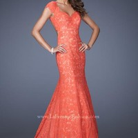 La Femme Prom Dresses 20117 at Peaches Boutique