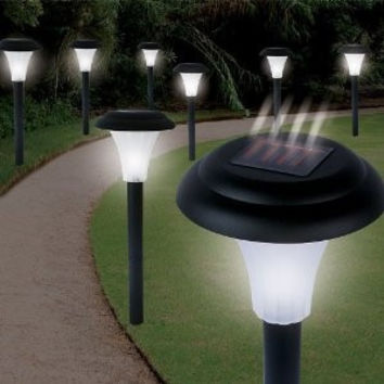 Set of 16 - Solar Powered LED Accent Lights