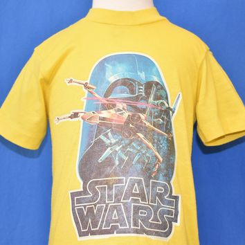 70s Star Wars Darth Vader Iron On t-shirt Toddler 2T