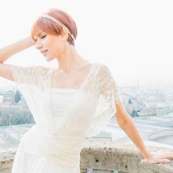 Romantic wedding dress, ivory lace dress, bridal gown, white lace gown, Marriage, Ceremony, Infinity Lace dresses, Lace maxi dress, wedding