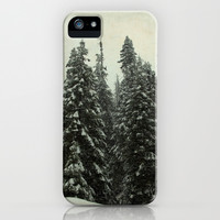 First Snow iPhone & iPod Case by Shawn King
