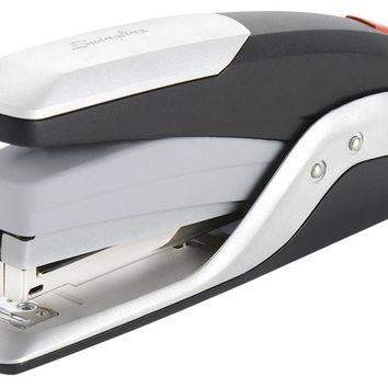 Swingline Stapler Quick Touch Full Strip Metal 25 Sheets Black/Silver (S70645...